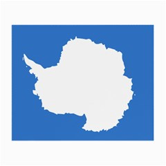 Proposed Flag Of Antarctica Small Glasses Cloth (2 Sides) by abbeyz71