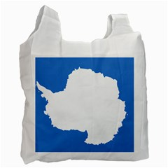 Proposed Flag Of Antarctica Recycle Bag (one Side) by abbeyz71