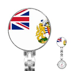 Flag Of The British Antarctic Territory Stainless Steel Nurses Watch by abbeyz71