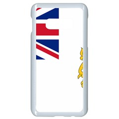 Flag Of The British Antarctic Territory Samsung Galaxy S10e Seamless Case (white)