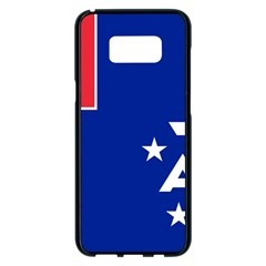 Flag Of The French Southern And Antarctic Lands Samsung Galaxy S8 Plus Black Seamless Case by abbeyz71