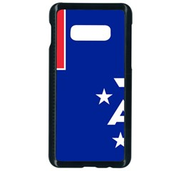 Flag Of The French Southern And Antarctic Lands Samsung Galaxy S10e Seamless Case (black) by abbeyz71