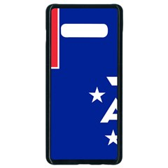 Flag Of The French Southern And Antarctic Lands Samsung Galaxy S10 Plus Seamless Case (black)
