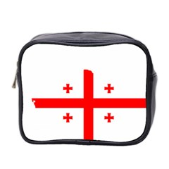 Borders Country Flag Geography Map Mini Toiletries Bag (two Sides) by Sapixe