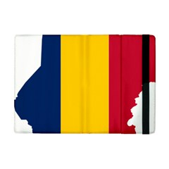 Chad Flag Map Geography Outline Apple Ipad Mini Flip Case