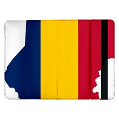 Chad Flag Map Geography Outline Samsung Galaxy Tab Pro 12 2  Flip Case