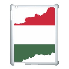 Hungary Country Europe Flag Apple Ipad 3/4 Case (white)