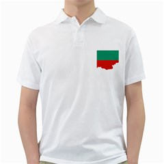 Bulgaria Country Europe Flag Golf Shirt by Sapixe
