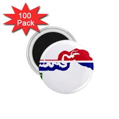 Gambia Flag Map Geography Outline 1 75  Magnets (100 Pack)  by Sapixe