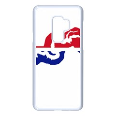 Gambia Flag Map Geography Outline Samsung Galaxy S9 Plus Seamless Case(white)