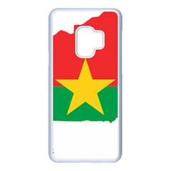 Burkina Faso Flag Map Geography Samsung Galaxy S9 Seamless Case(white) by Sapixe