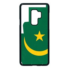 Mauritania Flag Map Geography Samsung Galaxy S9 Plus Seamless Case(black)
