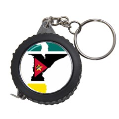 Mozambique Flag Map Geography Measuring Tape by Sapixe