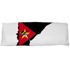 Mozambique Flag Map Geography Body Pillow Case Dakimakura (two Sides) by Sapixe