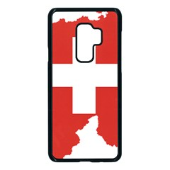 Switzerland Country Europe Flag Samsung Galaxy S9 Plus Seamless Case(black) by Sapixe