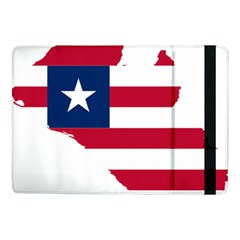 Liberia Flag Map Geography Outline Samsung Galaxy Tab Pro 10 1  Flip Case
