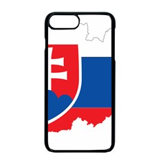 Slovakia Country Europe Flag Iphone 7 Plus Seamless Case (black)