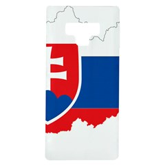 Slovakia Country Europe Flag Samsung Galaxy Note 9 Tpu Uv Case