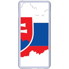 Slovakia Country Europe Flag Samsung Galaxy S10 Plus Seamless Case(white) by Sapixe