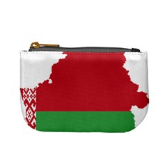 Belarus Country Europe Flag Mini Coin Purse by Sapixe