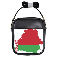 Belarus Country Europe Flag Girls Sling Bag by Sapixe