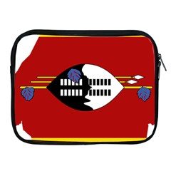 Swaziland Flag Map Geography Apple Ipad 2/3/4 Zipper Cases