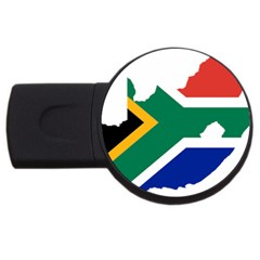 Africa Borders Country Flag Usb Flash Drive Round (2 Gb)