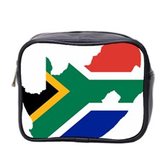 Africa Borders Country Flag Mini Toiletries Bag (two Sides) by Sapixe