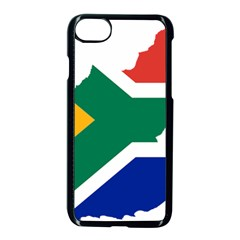 Africa Borders Country Flag Iphone 8 Seamless Case (black) by Sapixe