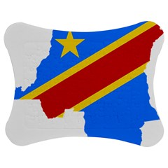Democratic Republic Of The Congo Flag Jigsaw Puzzle Photo Stand (bow) by Sapixe