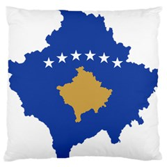 Kosovo Country Europe Flag Borders Standard Flano Cushion Case (two Sides)