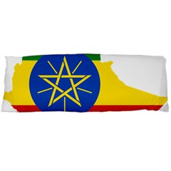 Ethiopia Flag Map Geography Body Pillow Case Dakimakura (two Sides)