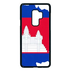 Borders Country Flag Geography Map Samsung Galaxy S9 Plus Seamless Case(black)