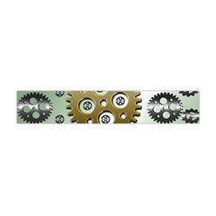 Gear Background Sprocket Flano Scarf (mini) by HermanTelo