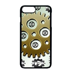 Gear Background Sprocket Iphone 8 Plus Seamless Case (black)