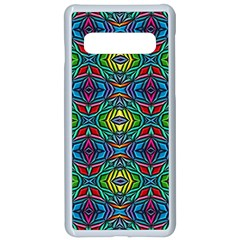 B 5 Samsung Galaxy S10 Seamless Case(white) by ArtworkByPatrick