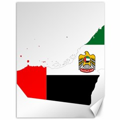 Borders Country Flag Geography Map Canvas 36  X 48