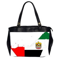 Borders Country Flag Geography Map Oversize Office Handbag (2 Sides)