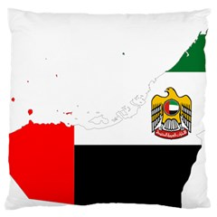 Borders Country Flag Geography Map Large Cushion Case (one Side)