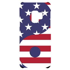Yang Yin America Flag Abstract Samsung S9 Black Uv Print Case by Sapixe
