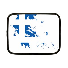 Greece Country Europe Flag Borders Netbook Case (small)