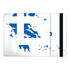 Greece Country Europe Flag Borders Samsung Galaxy Tab Pro 10 1  Flip Case