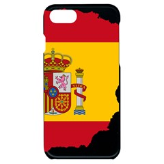 Spain Country Europe Flag Borders Iphone 7/8 Black Uv Print Case by Sapixe