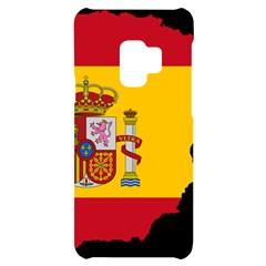 Spain Country Europe Flag Borders Samsung S9 Black Uv Print Case by Sapixe