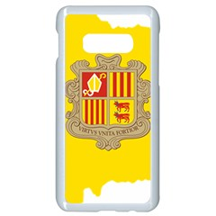Andorra Country Europe Flag Samsung Galaxy S10e Seamless Case (white) by Sapixe