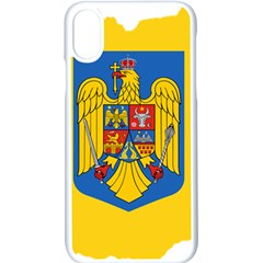 Romania Country Europe Flag Iphone Xs Seamless Case (white) by Sapixe