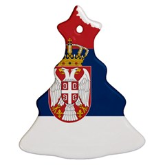 Serbia Country Europe Flag Borders Ornament (christmas Tree)