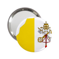 Vatican City Country Europe Flag 2 25  Handbag Mirrors