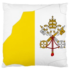 Vatican City Country Europe Flag Standard Flano Cushion Case (one Side) by Sapixe
