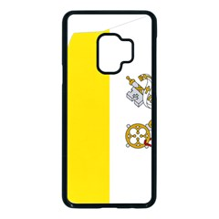 Vatican City Country Europe Flag Samsung Galaxy S9 Seamless Case(black)